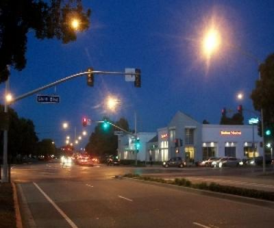 Street Lights And Traffic Signals Foster City California