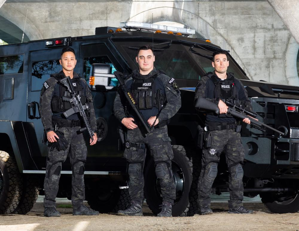 special weapons and tactics (swat) foster city, california S.W.a.t Equipment
